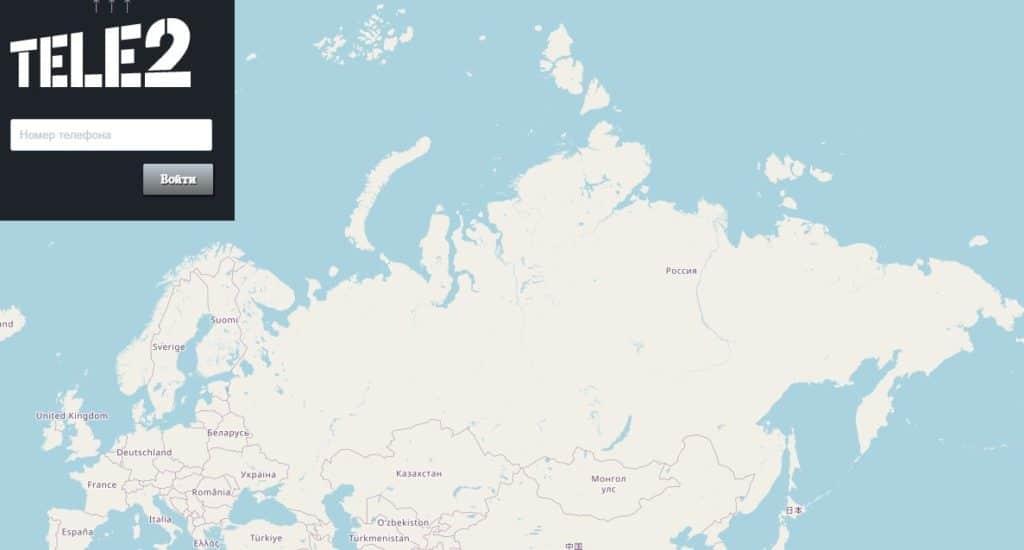 Карта севера евразии
